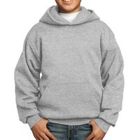 745355028-816 - Port & Company® Youth Core Fleece Pullover Hooded Sweatshirt - thumbnail