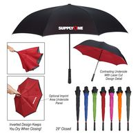 "745489971-816 - 48"" Arc Two-Tone Inversion Umbrella - thumbnail"