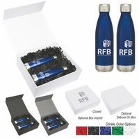 746065858-816 - 16 Oz. Swiggy Stainless Steel Bottle Gift Set - thumbnail