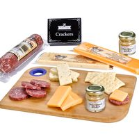 755888218-816 - Charcuterie Favorites Board With Meat & Cheese Set - thumbnail