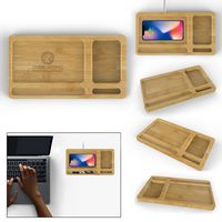756129679-816 - Bamboo Wireless Charger Tray - 10W - thumbnail