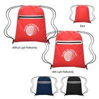 766063219-816 - Farsight Reflective Drawstring Sports Pack - thumbnail