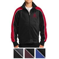 905595824-816 - Sport-Tek® Youth Piped Tricot Track Jacket - thumbnail