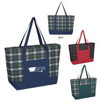 905778876-816 - Crawford Plaid Tote Bag - thumbnail