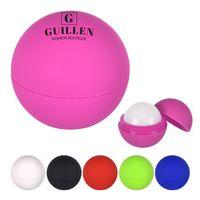 906092006-816 - Rubberized Lip Moisturizer Ball - thumbnail