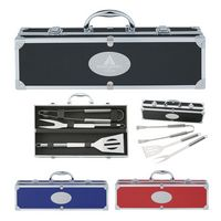 924970773-816 - BBQ Set In Aluminum Case - thumbnail