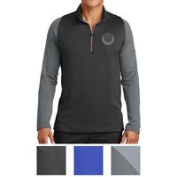 935551477-816 - Nike Dri-FIT Stretch 1/2-Zip Cover-Up - thumbnail