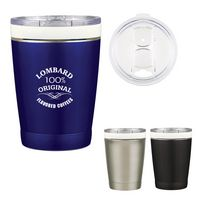 935807185-816 - 12 Oz. Ceramisteel™ Lil' Boss Stainless Steel Tumbler - thumbnail
