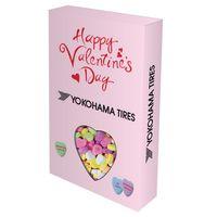 946292769-816 - Custom Die Cut Candy Box With Conversation Hearts - thumbnail