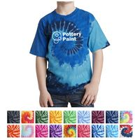 955372123-816 - Port & Company® Youth Tie-Dye Tee - thumbnail