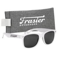 955887023-816 - Malibu Sunglasses With Heathered Pouch - thumbnail