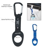 962870968-816 - 6mm Carabiner With Bottle Holder - thumbnail