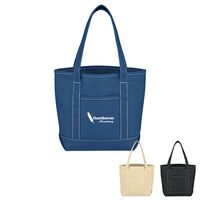 964002225-816 - Small Cotton Canvas Yacht Tote Bag - thumbnail