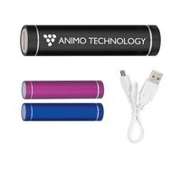 964990459-816 - UL Listed Round Metal Power Bank - thumbnail