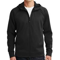 965403779-816 - Sport-Tek® Rival Tech Fleece Full-Zip Hooded Jacket - thumbnail