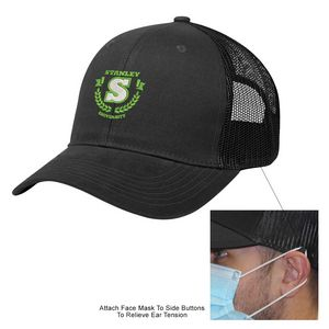 976377419-816 - Cotton Twill Mesh Back Mask Cap - thumbnail
