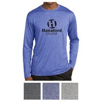 985411233-816 - Sport-Tek® Long Sleeve Heather Contender™ Tee - thumbnail
