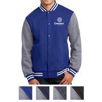 985438964-816 - Sport-Tek® Fleece Letterman Jacket - thumbnail