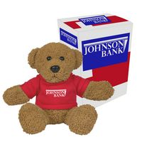 "995013520-816 - 6"" Ole' Time Rag Bear With Custom Box - thumbnail"