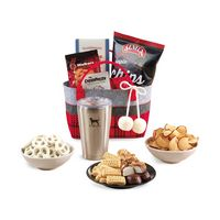 175774601-112 - Cozy Holiday Treats Tote with Aviana™ Tumbler Red-Black - thumbnail