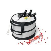 303069038-112 - Collapsible Party Cooler - Silver - thumbnail