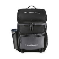 315622614-112 - Excursion Computer Backpack with Insulated Pocket Black - thumbnail