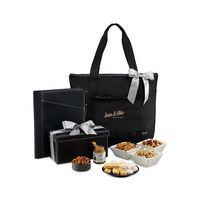 315774585-112 - Heritage Supply™ Highline Tote Gourmet Gift Set Black - thumbnail