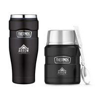 375358903-112 - Thermos® Stainless King™ Travel Gift Set Black - thumbnail