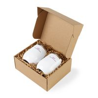 386180172-112 - Corkcicle® Stemless Wine Cup Gift Set - Gloss White - thumbnail