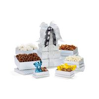 395774540-112 - Shimmering Sweets & Snacks Gourmet Tower Silver - thumbnail