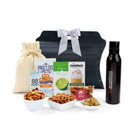 396067085-112 - Sidney Sip & Snack Gift Tote - Black - thumbnail