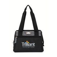 505517900-112 - Igloo® Leftover Lunch Bag - Black-Paneled Stripes - thumbnail