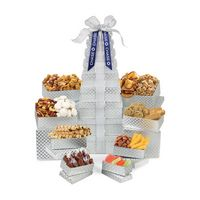 525679716-112 - Sunsational Ultimate Shimmering Sweets and Snacks Gourmet Tower Grey - thumbnail