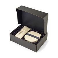 526036308-112 - Gaia Bamboo Fiber Lunch Gift Set Natural - thumbnail