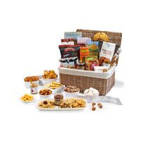 556473903-112 - Gourmet Delights Keepsake Basket - Natural - thumbnail