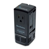 775173878-112 - Brookstone® Global Power Converter Black - thumbnail