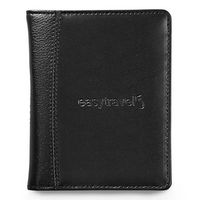 785142450-112 - Samsonite Leather Passport Wallet - Black - thumbnail