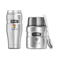 915887741-112 - Thermos® Stainless King™ Travel Gift Set Silver - thumbnail