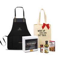 936266252-112 - Taco Tuesday Night Gift Set - Natural-Black - thumbnail