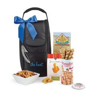 986180874-112 - Everything But The Wine Gourmet Tote - Black - thumbnail