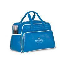 993685446-112 - Vintage Weekender Bag Blue-White - thumbnail