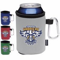 105970230-138 - KOOZIE® Collapsible Can Kooler w/Caribiner (Heat Transfer) - thumbnail
