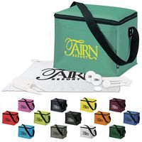 125471215-138 - KOOZIE® 6 Pack Kooler Golf Event Kit w/Titleist® DT TruSoft™ Golf Balls - thumbnail