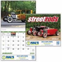 125471314-138 - Good Value® Street Rods Calendar (Spiral) - thumbnail