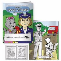 155961672-138 - BIC Graphic® Coloring Book: Friendly Police Officers - thumbnail