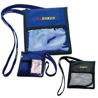 165470700-138 - BIC Graphic® Neck Wallet w/Lanyard - thumbnail