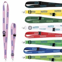"325988099-138 - 1"" Universal Source™ Adjustable Polyester Lanyard - thumbnail"