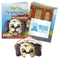 335471788-138 - BIC Graphic® Color Book w/Mask: Flash the Firefighter - thumbnail