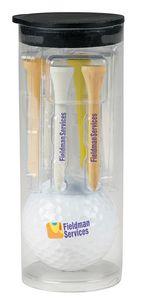 336517010-138 - Titleist® Pro V1® Par Pack w/Golf Ball-N-Tees - thumbnail