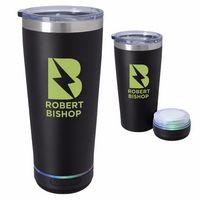 506125260-138 - 20 Oz. Tumbler w/Bluetooth® Speaker - thumbnail